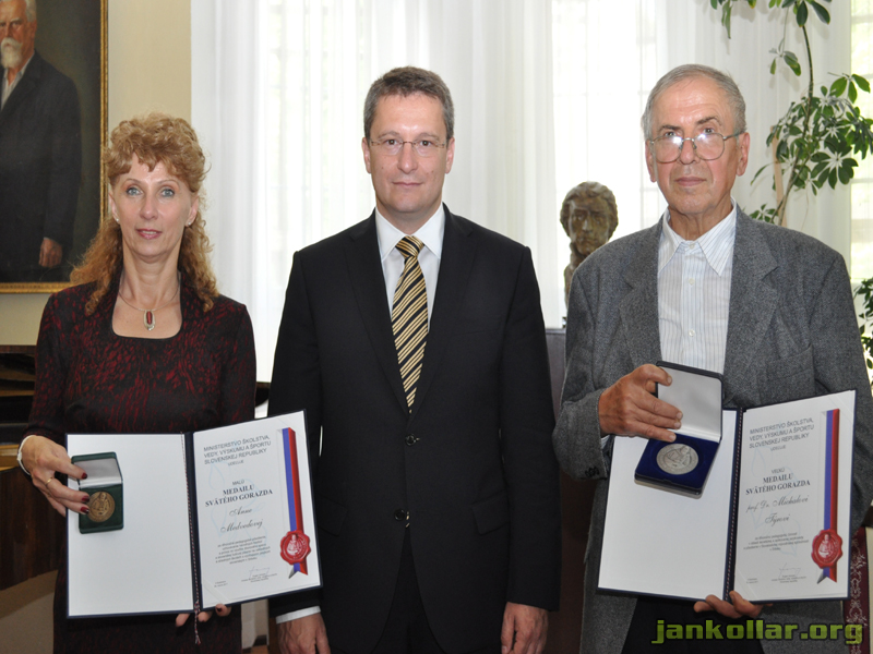 Uznanie svätého Gorazda 2011